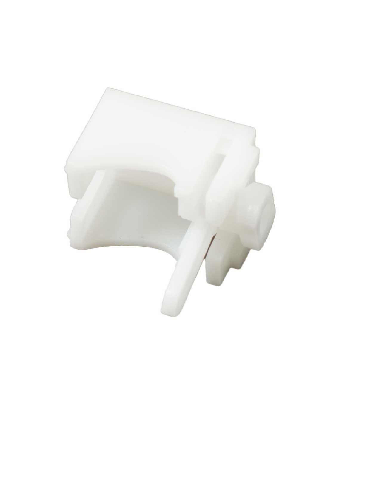 Foldegardin beslag med lås