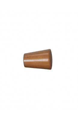 Knop Cono 30 mm teak - 7533