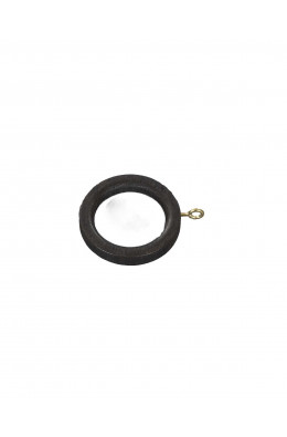 Træ gardin ring til 30 mm stang