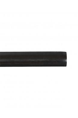 Trægardinstang profil 19 mm sortbrun - 7519
