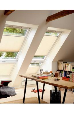 VELUX originale plissegardiner  - gardinet du kan sætte i vinduet som du vil.