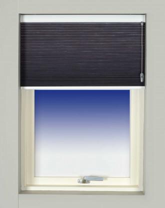 Moderne Plissegardiner Dobbelte mørklægning Alm. et lag stof - UP & DOWN OY-73