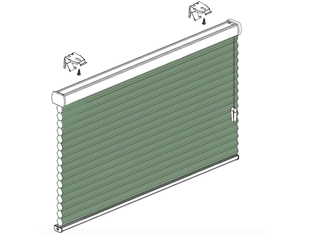 Faber plisségardiner model SmartCord